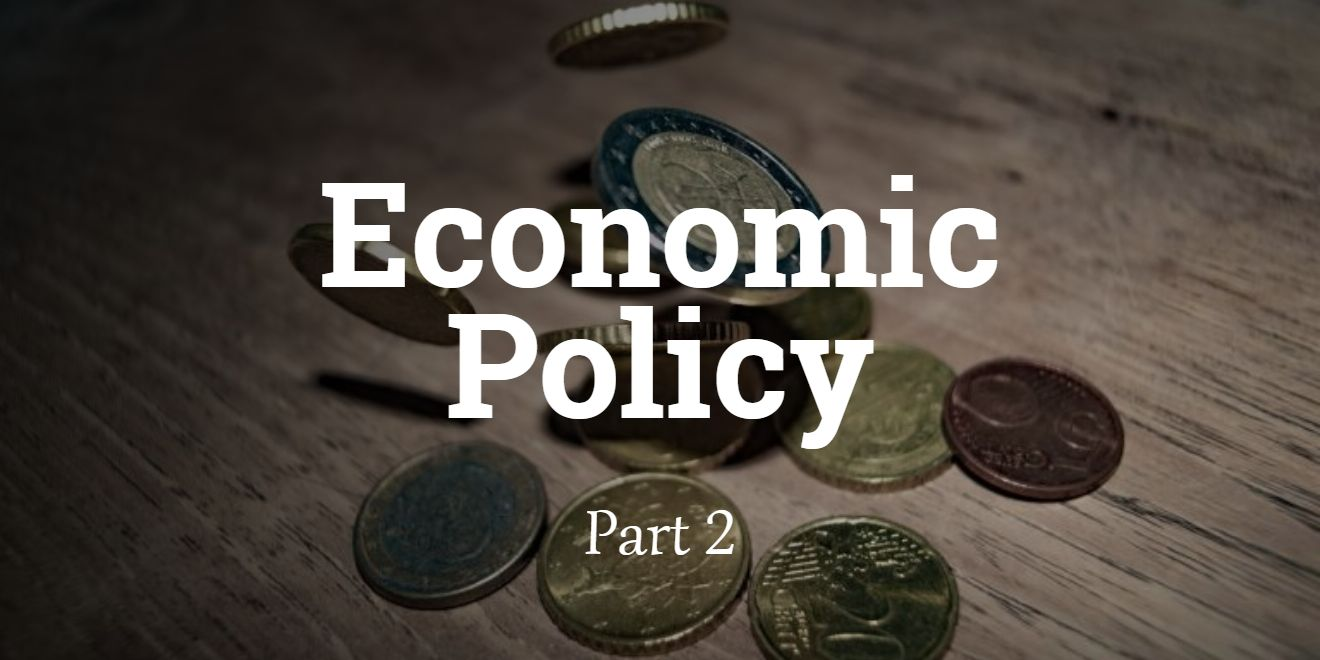 Bringing Economic Policy to the Public: The Second Instalment